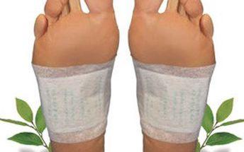 5denní kúra detoxu! Balení 10 ks detoxikačních náplastí KINOKI pro bezpečnou a nenásilnou OČISTU těla