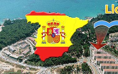7denní pobyt v apartmánech pro 4 osoby v LLoret De Mar ve Španělsku se slevou 45