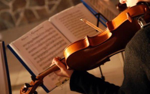Geniální houslisla v Obecním domě! Lístky do prvních pěti řad! Poslechněte si Čtvero ročních období!