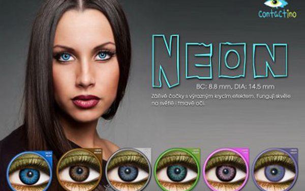 Barevné čočky Contactino jen za 195 Kč! Mějte úchvatně krásné oči!