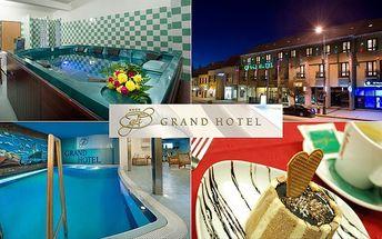 Romantický pobyt pro 2 ve 4* Grandhotelu Třebíč