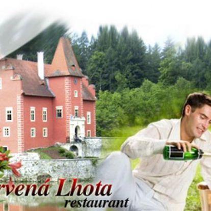Nevšední pobyt na Červené Lhotě pro DVA na DVĚ NOCI se snídaní za úžasných 1590 Kč! Přijeďte relaxovat a užít si romantiku na zámku s piknikem a pouštěním létajících přání!