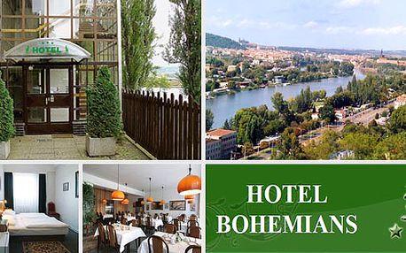 Ubytování pro 2 OSOBY v hotelu Bohemians*** v Praze se snídaní za 999 Kč. Užijte si společný odpočinek v hotelu na břehu Vltavy s přímým dopravním spojením do centra!