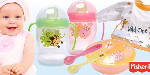 Fisher-Price výrobky pro snadnější krmení dětí