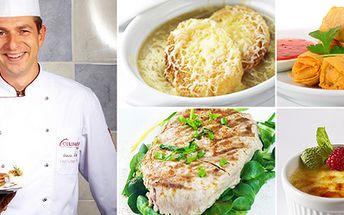 Kurzy vaření. Steaky, Itálie, ryby na grilu a další!