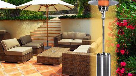 Topidlo pro vaši zahradu! Zahradní topidlo pro dlouhé letní večery pouze za 4500 Kč!