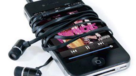 Designová sluchátka HI-EARPHONES v černé nebo modré barvě – PERFEKTNÍ kombinace výkonu a pohodlí pro vaši hudbu!