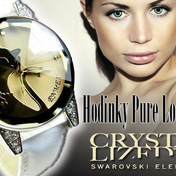 Luxusní dámské hodinky Swarovski Enmex Pure Look.
