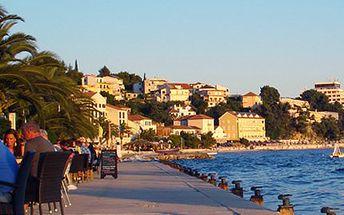 5 dní v Chorvatsku s ALL INCLUSIVE! Oblázková pláž, plná penze a možnost dopravy!