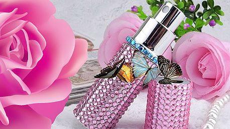 Flakóny na parfém s krystaly