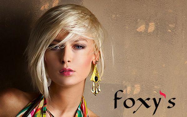 Profesionální kadeřnická péče L´Oréal – 3 varianty, módní sestřih oživený melírem nebo barvou, Salon Foxy's