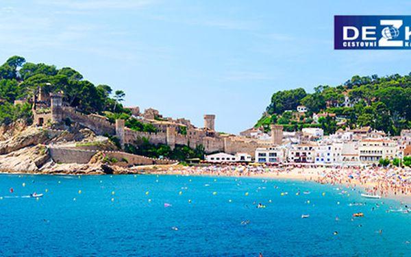 Zájezd na Costa Brava. 10-13 dní ve Španělsku