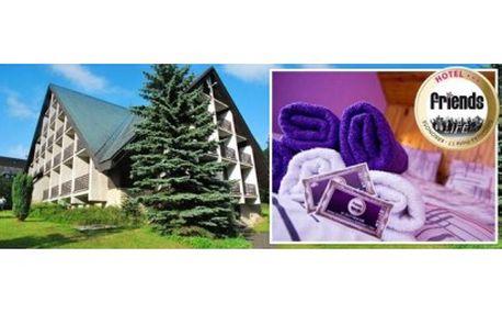 Ubytování pro 2 osoby na 2 noci v hotelu Friends s polopenzí se slevou 60 %: Užijte si báječnou dovolenou plnou zábavy...
