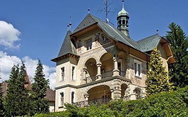 3 – denní nebo 4 – denní exkluzivní pobyt pro dva ve vládní vile Luhačovice