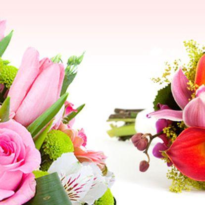 Růže, lilie, gerbery a další květiny jen za 99 Kč
