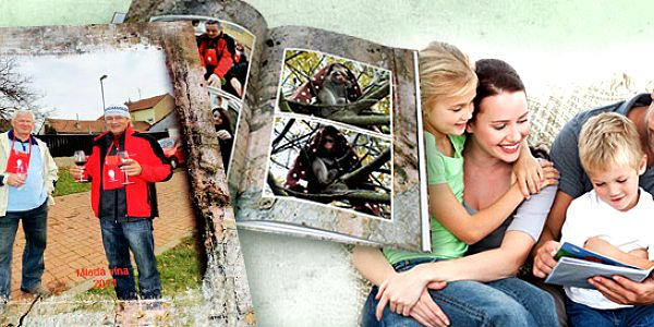 Fotokniha nebo fotosešit na vaše snímky z dovolené