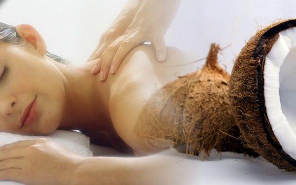 Masáž s letní inspirací vhodná pro nadcházející horké letní období.Exotická chladivá masáž s kokosovými lupínkyna 45 minut