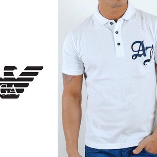 Pánská polo trika značky Armani. Na výběr 12 variant.