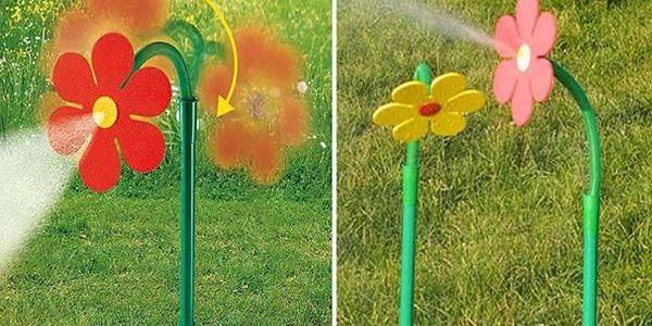 Rozprašovací - tančící květina jako zavlažovač do Vaší zahrady nebo jako oblíbená zábava pro děti