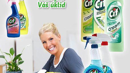 Čistění nemusí zabrat celý den a být namáhavé, ničit Vaši pokožku a ještě polykat plno peněz. S touto nabídkou 7 výrobků CIF bude čištění hračka!