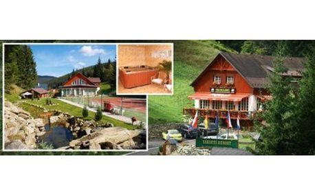 Vyrazte do Krkonoš v létě, na podzim či v zimě se 45% slevou: 3 dny pro 2 osoby v rodinném penzionu v Peci pod Sněžko...