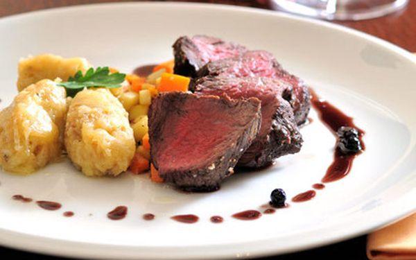 Gurmánské 4-chodové menu v restauraci Rotiserie za 369 Kč!