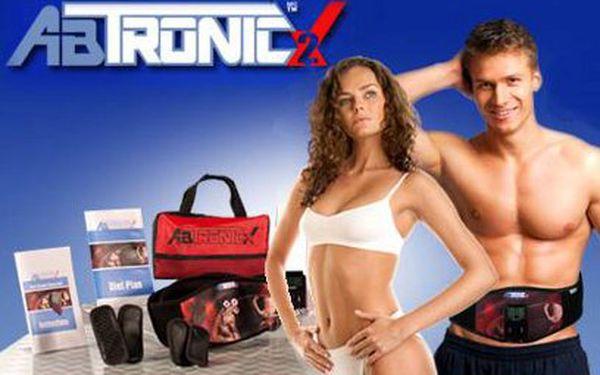 Masážní přístroj AB TRONIC X2 jen za 399 Kč! Pro ploché břicho!