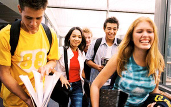 Back2school - dopolední kurz angličtiny pro teenagery
