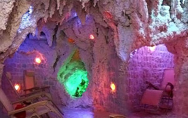 1 nebo 5 vstupů do solno-jodové jeskyně