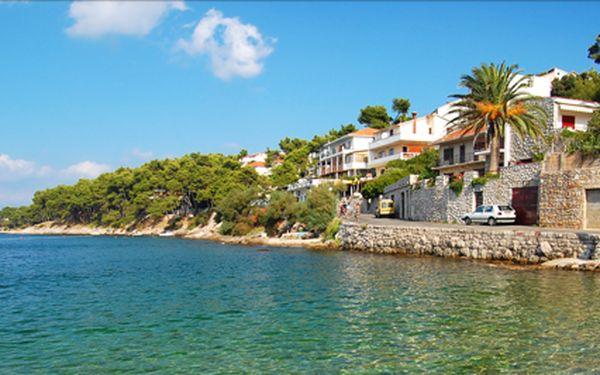 Týden na Makarské riviéře, pavilony Mediteran ** s polopenzí.