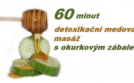 60 minut detoxikační medová masáž