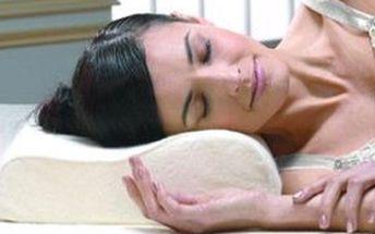 Osvědčený ORTOPEDICKÝ polštář Memory Pillow – zaručuje dokonalou oporu krku a hlavy + KVALITNÍ SPÁNEK!
