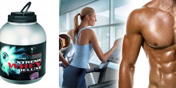 Proteinový nápoj Extreme Whey Deluxe. Nápoj, který podpoří růst Vaší svalové hmoty. Z největší části je tvořen mikro filtrovaným whey izolátem té nejvyšší možné kvality, která předčí i ty nejuznávanější a nejdražší proteiny na světě!