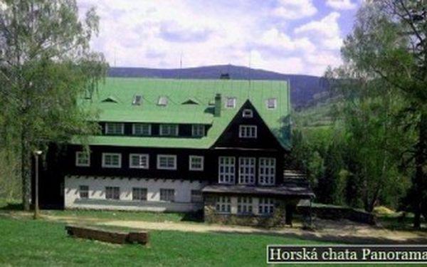 Úžasných 1 199 Kč za pohádkový 3denní pobyt pro dva s POLOPENZÍ v útulné horské chatě Panorama v Deštné. V ceně hodina BAZÉNU a ODPOLEDNÍ SVAČINKA. Poznejte Orlické hory nebo kraj Boženy Němcové se slevou 42 %!