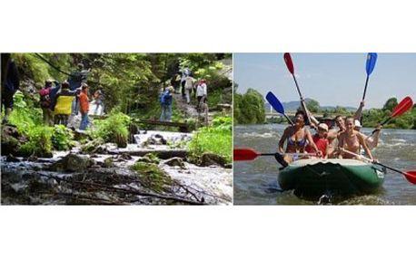 Užijte si 7 denní vodácké dobrodružství na Slovensku na nejzajímavějších úsecích slovenských řek Oravy a Váhu ...