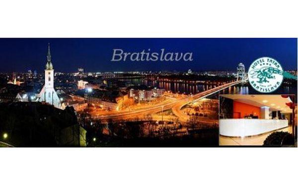 Prožijte nádherné 3 dny v Bratislavě, s ubytováním v hotelu TATRA**** pro 2 osoby s výhledem na Bratislavu, s bohatou ...