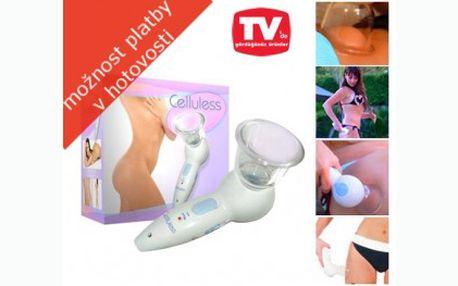 Přístroj CELLULESS jen za 339 Kč! Zatočte s celulitidou v pohodlí domova!