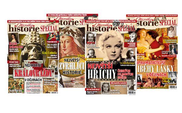 Roční předplatné Otazníků Historie za 99 Kč včetně poštovného!