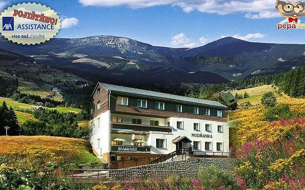 Třídenní pobyt v Peci pod Sněžkou pro dva s bohatou polopenzí a atraktivní slevou.