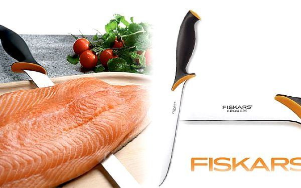 650 Kč za sadu Fiskars pro milovníky RYB. Příprava rybích pokrmů bude snadná a zábavná díky této profesionální sadě Fiskars!