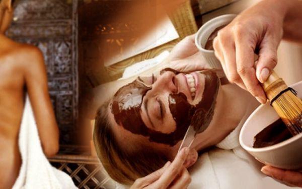 90ti minutové Kosmetické ošetření s čokoládovou maskou! Se slevou 62%! Dopřejte si příjemnou relaxaci s ošetřením! Jen za 229 Kč!