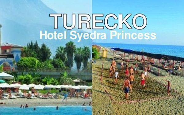 Dovolená na Turecké Riviéře, 8 dní, 3*+, all inclusive za 10.700 Kč!