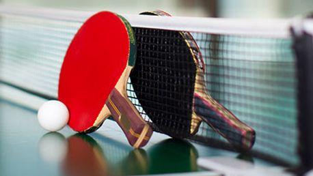 Permanentka na 5x ping-pong (5 hodin hry) za fantastických 300 Kč!
