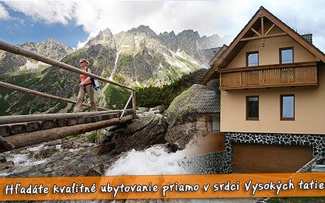 Léto v Tatrách jen za 1716 Kč pro 2 osoby na 3 dny. Pobyt v rodinném prostředí v penzionu Vila Tatra se snídaní + vstup do sauny. Ubytování v příjemných a komfortních pokojích.