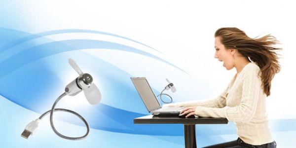 Kompaktní větrák do USB za skvělou cenu 99 Kč! Osvěžte se při práci během horkých letních dnů s USB větrákem, který zapojíte do každého počítače. Sleva 67%!