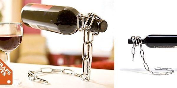 Magický držák na víno
