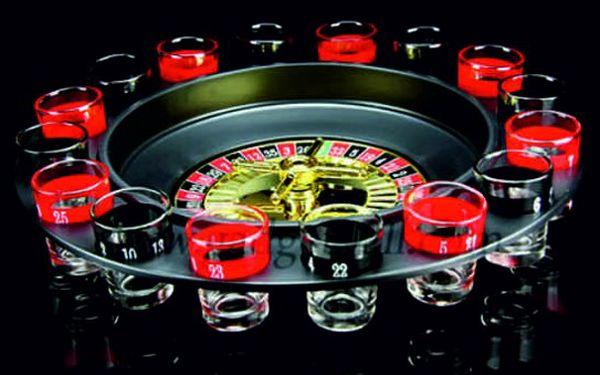 Sleva 50%!! Skvělá alkoholová PÁRTY ruleta!! Postavte si doma své casino!