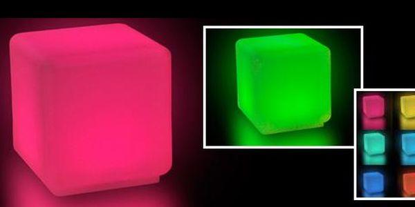 Buďte originální! Pořiďte si LED kostku na sezení svítící 9-ti barvami, která ozdobí každou letní párty, a je skvělou dekorací do domácnosti - to vše jen za 1.895 Kč!