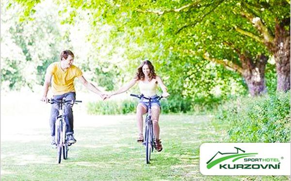 Sporthotel Kurzovní, 3 nebo 4 dny pro dva. Půjčení kol, whirpool, hydromasání vana a mnoho dalšího.
