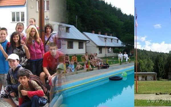 Letní DĚTSKÝ TÁBOR nedaleko Náměště nad Oslavou pro jedno dítě již od 1789 Kč! Nejkrásnější prázdniny na Jiskře. Celotáborová hra, tradiční táborové akce se slevou!